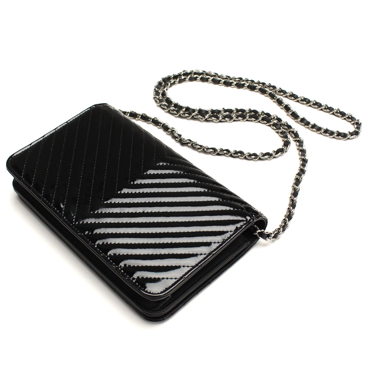 Chanel chain wallet A82359 black( taxfree/send by EMS/authentic/A brand new item )