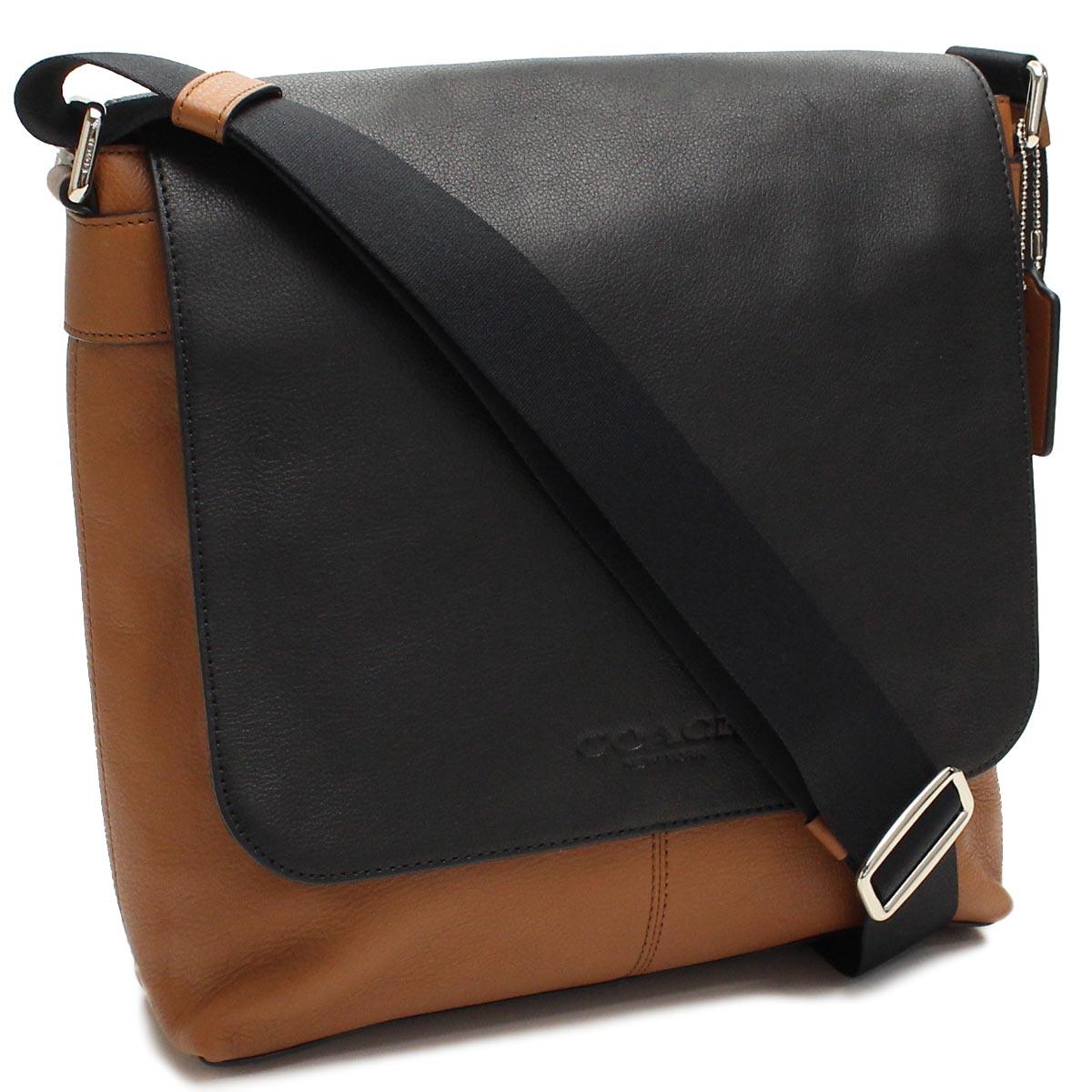 da94b8a60642 Bighit The total brand wholesale  Take coach (COACH) Sullivan slant  black  of shoulder bag F72108 BK SD Brown line