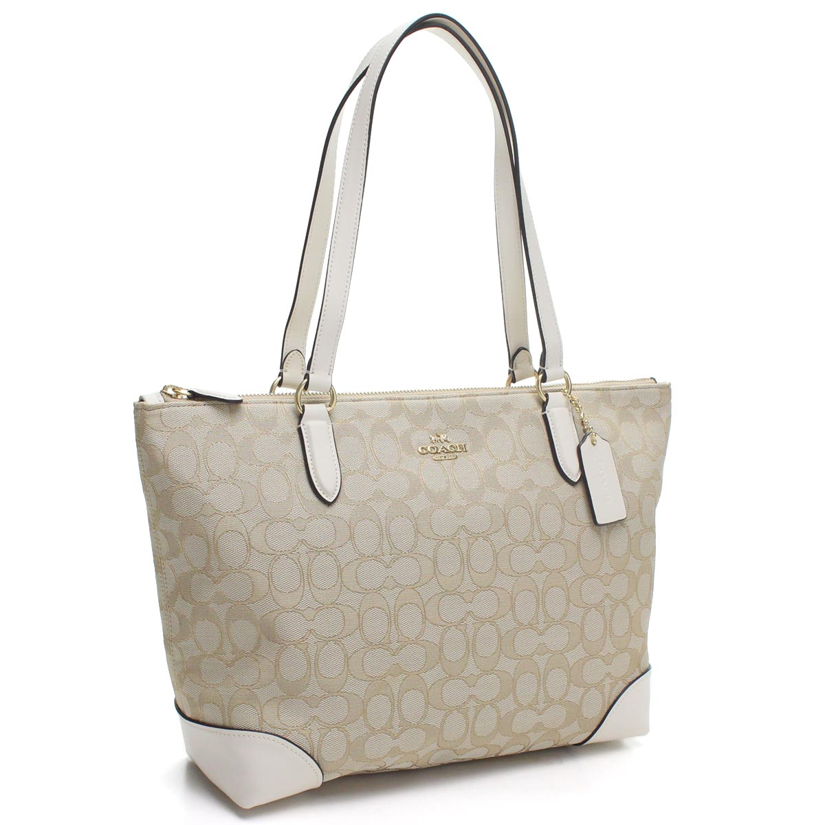 Hit The Total Brand Whole Coach Signature Tote Bag F29958 Imdqc Beige System White Rakuten Global Market