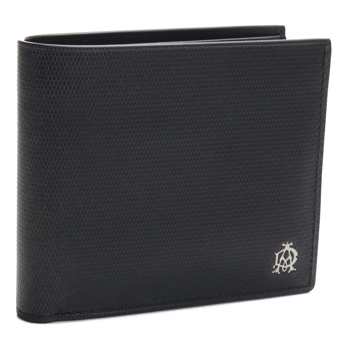 ダンヒル DUNHILL 2つ折り財布 L2AE30A ブラック メンズ