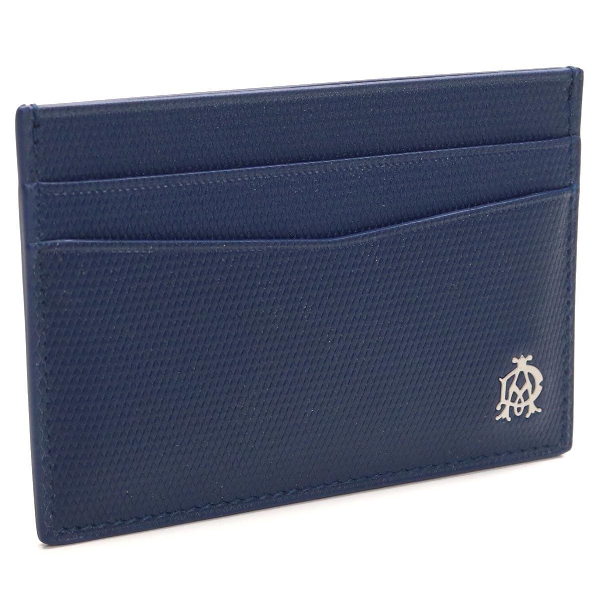 ダンヒル DUNHILL カードケース L2AE40D ブルー メンズ