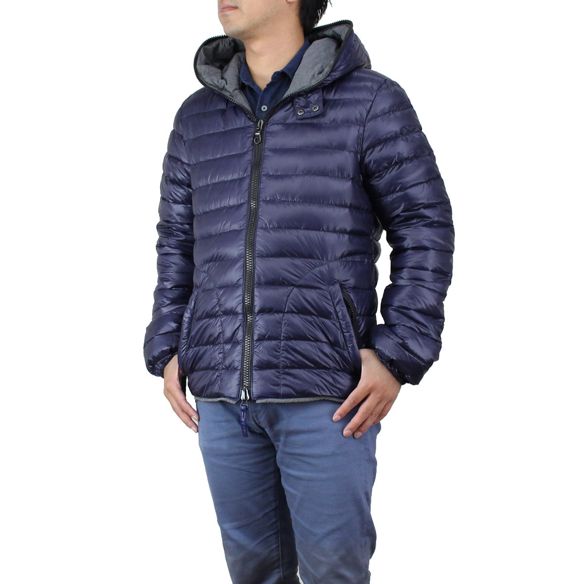 hot sale online 0f051 fe3a3 (DUVETICA) duvetica down jacket LAIO 32-U407000-1091-756 ASTRO Navy  systems( taxfree/send by EMS/authentic/A brand new item )