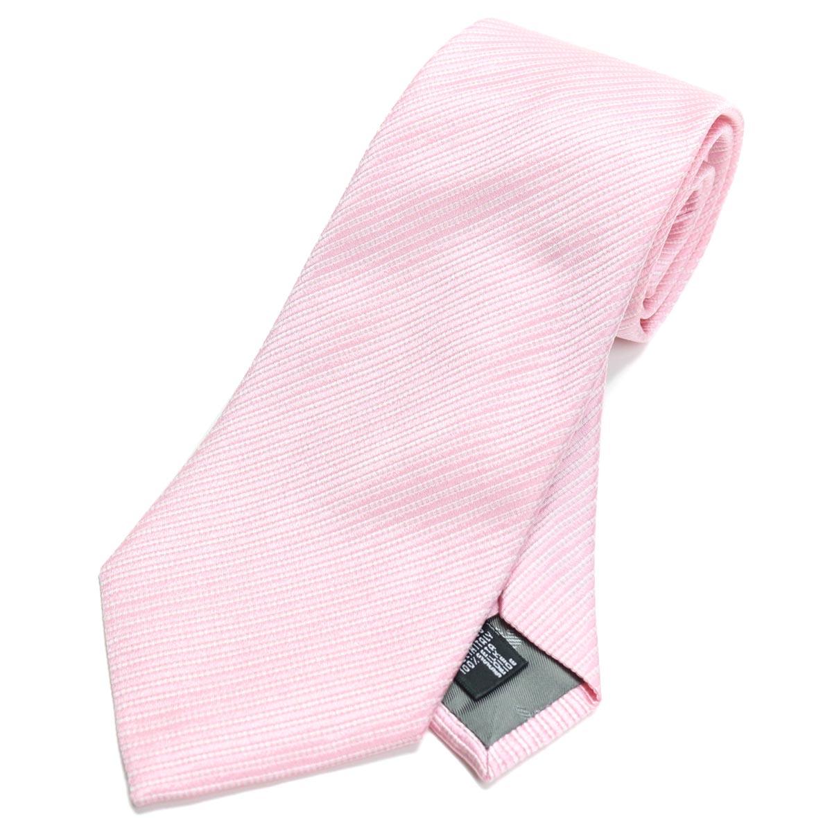 エンポリオ アルマーニ EMPORIO ARMANI ストライプ柄 ネクタイ レギュラータイ 340182 0P306 00070 PINK ピンク系 【メンズ】