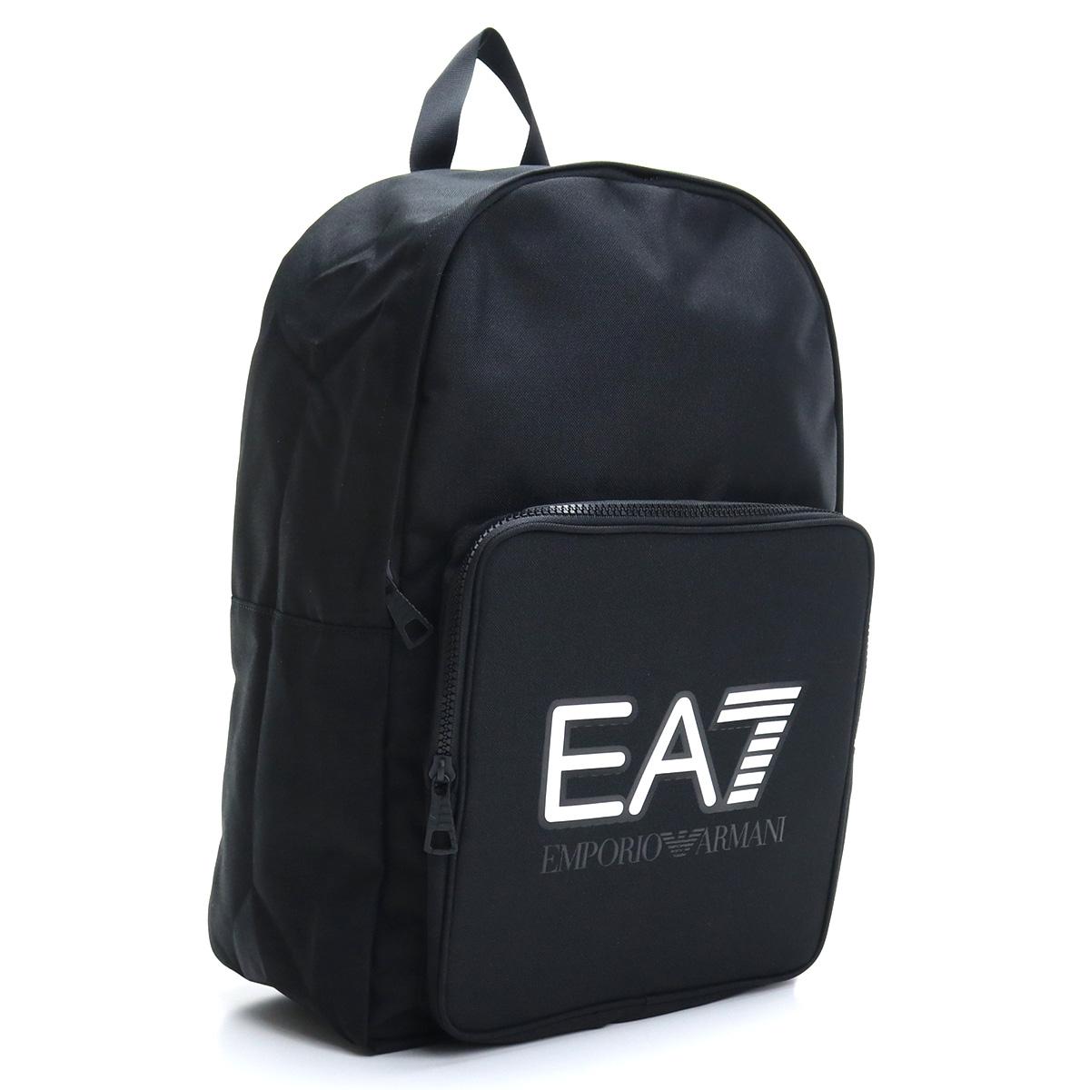 ※ 送料無料 ラッピング無料 イーエーセブン EA7 リュック 超激安特価 バックパック 275958 メンズ BLACK 0A101 bos-20 00020 送料無料/新品 ブラック bag-01