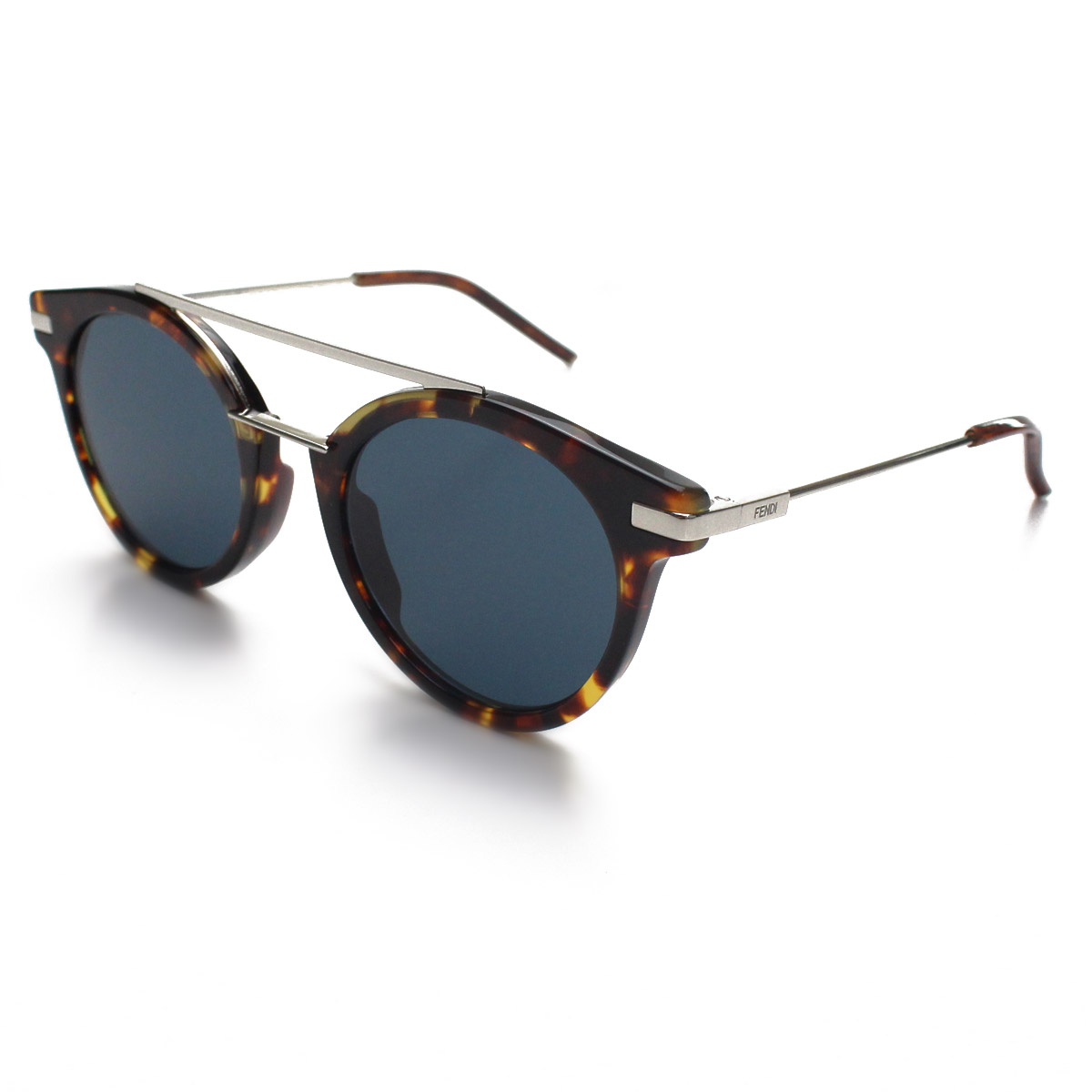 abbd3f2538bd Fendi FENDI round tortoiseshell pattern brown Demi sunglasses 0225 9GO/KU  brown system