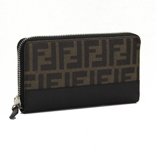 f4035ad2e94 Bighit The total brand wholesale  Fendi (FENDI) Zip around wallet coin with  7M0174-00X4U-F0CRD Brown( taxfree send by EMS authentic A brand new item )  ...
