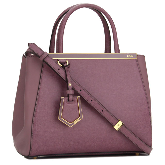 Fendi Handbag 8bh253 00d7e F0n96 Purple System Taxfree Send By Ems Authentic A Brand New Item