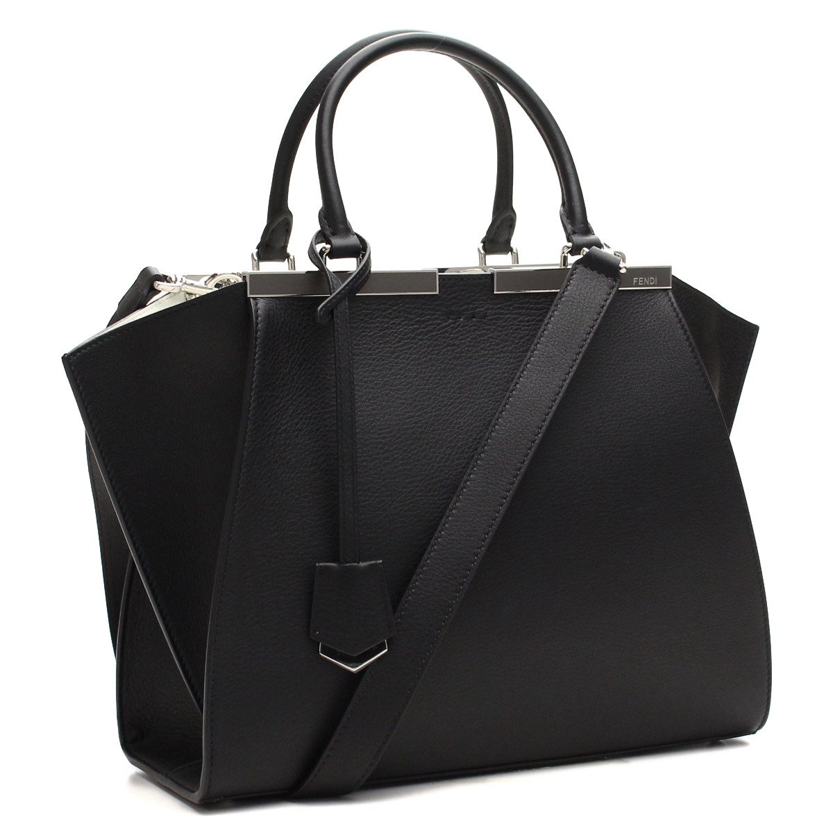 d23bd7fe72 Bighit The total brand wholesale  Fendi (FENDI) tote bag 8BH279-001A5-F0V 8  W Black( taxfree send by EMS authentic A brand new item )