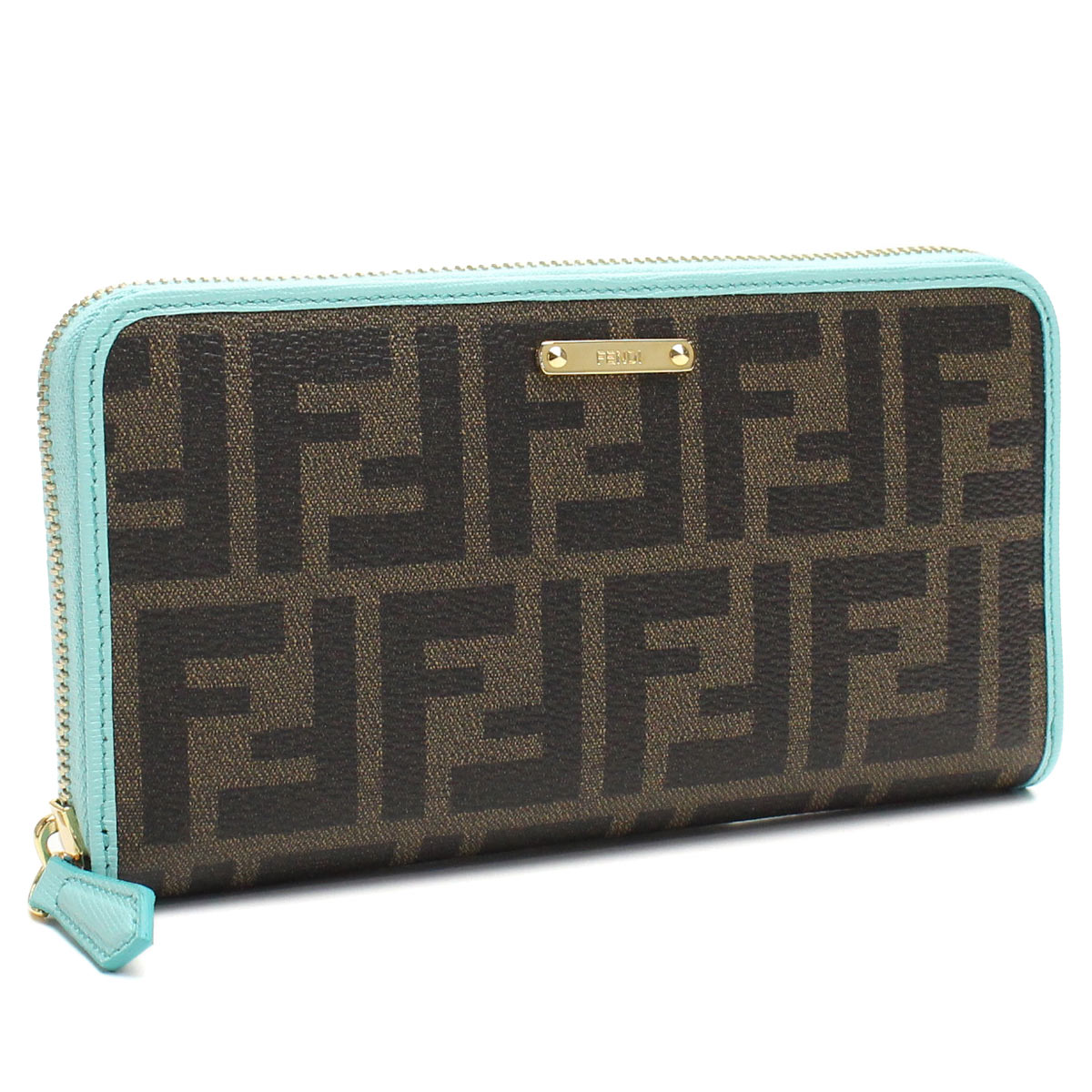 4371af8ddca Bighit The total brand wholesale  Fendi (FENDI) wallet large zip around  8M0299 00GRP F 0962 Brown (purse wallet)( taxfree send by EMS authentic A  brand new ...