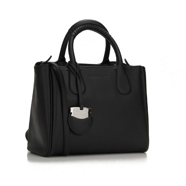 Ferragamo Nolita Handbags 21 E621 0579876 Nero Black Taxfree Send By Ems Authentic A Brand New Item