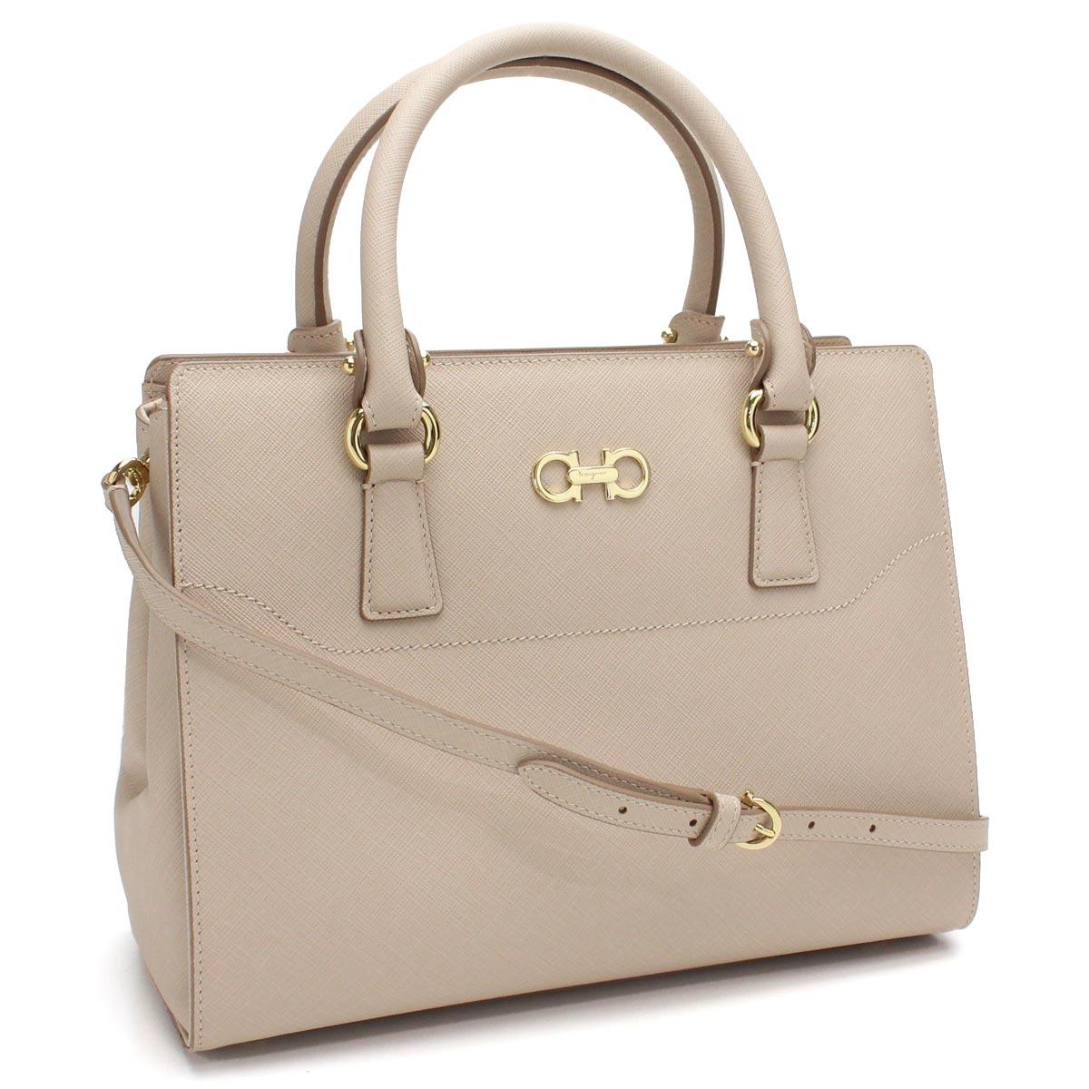 446c3b9abf8f Bighit The total brand wholesale  Ferragamo (FERRAGAMO) BEKY 2way handbag  21-F317 0622260 NEW BISQUE beige system