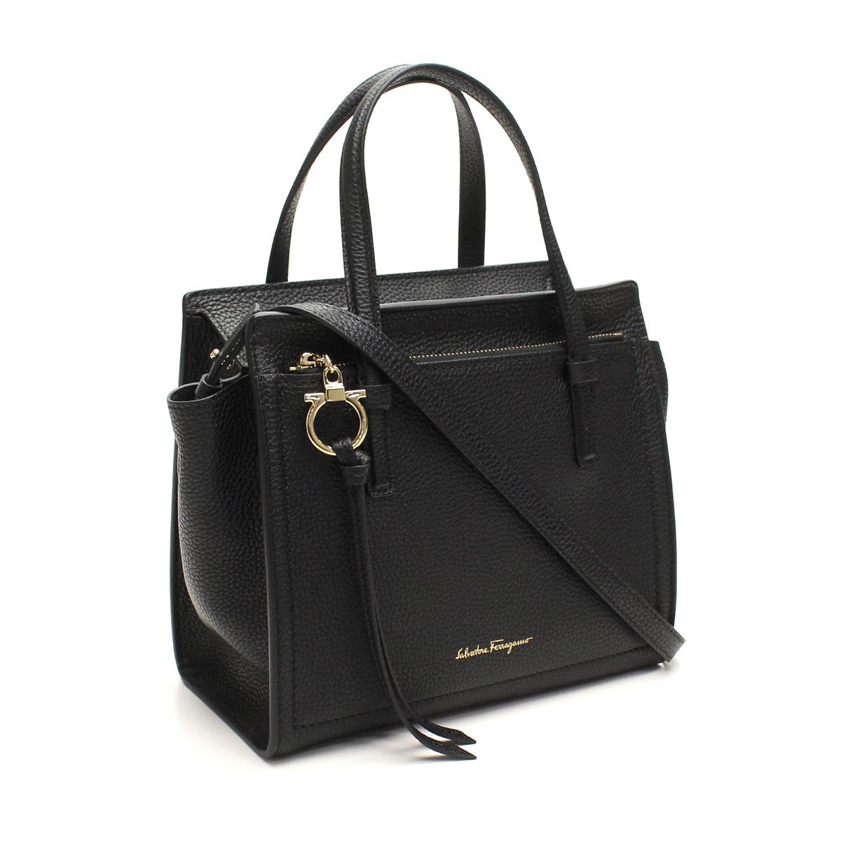 Ferragamo Handbags 21 F478 0625051 Nero Black Taxfree Send By