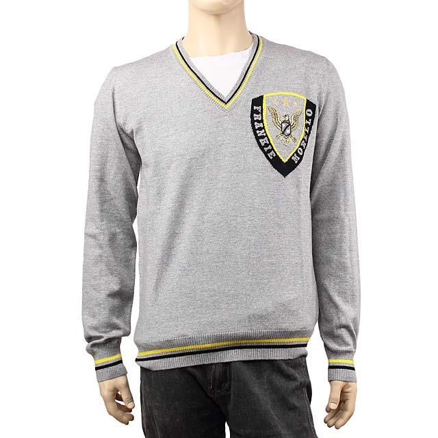 フランキーモレロ FRANKIE MORELLO メンズセーター A005 7010 8993 グレー【セーター】
