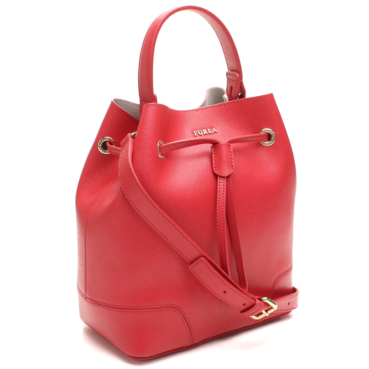 Hit The Total Brand Whole Furla Stacy Handbag Beh3 793933 B30 Rub Ruby Red Series Taxfree Send By Ems Authentic A New Item