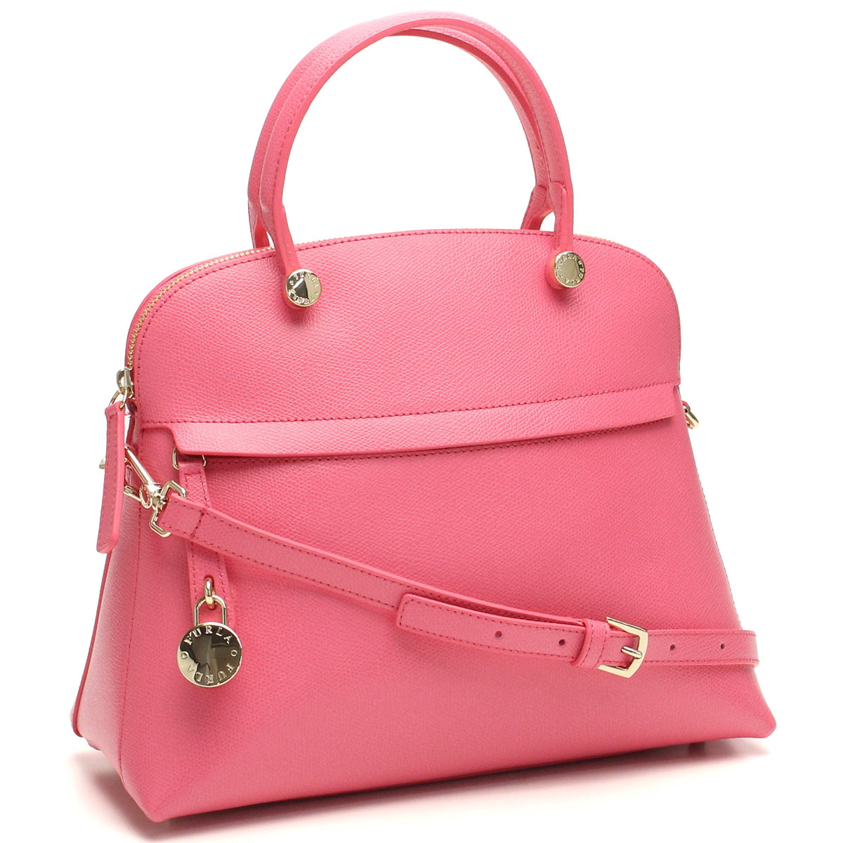 FURLA (FURLA) PIPER handbags BFK9 820859-ARE-ROE ROSE pink