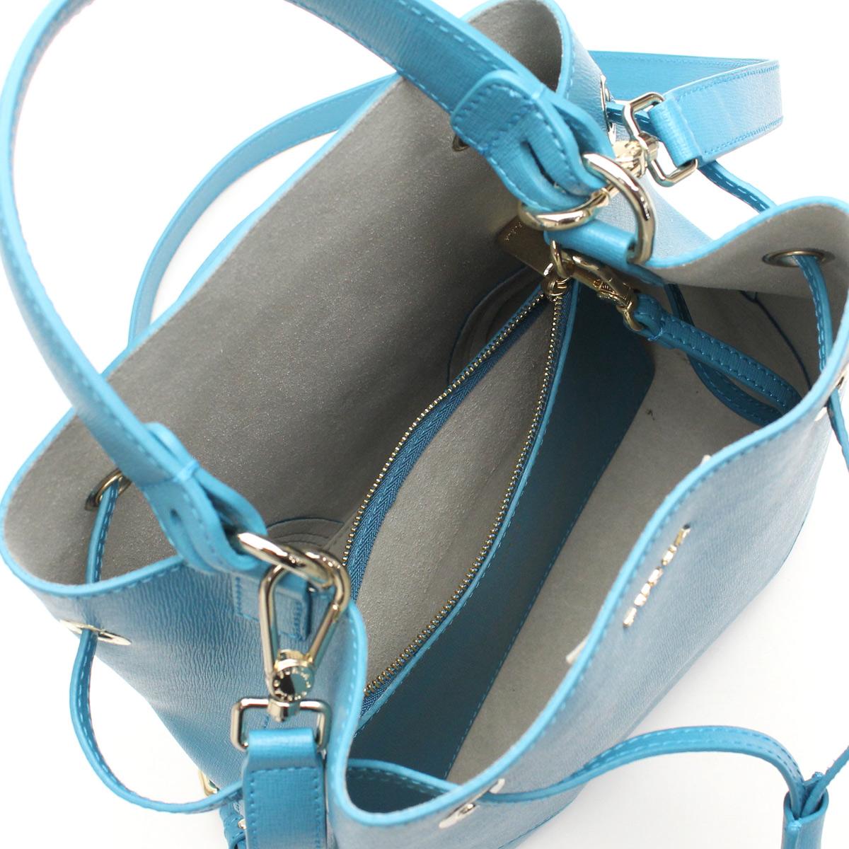 FURLA (FURLA) STACY handbag BEH3 820891-B30-TR4 TURCHESE blue( taxfree/send by EMS/authentic/A brand new item )
