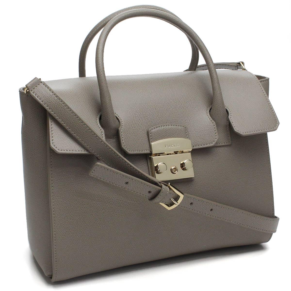 3977f5ef6e70 Bighit The total brand wholesale: Full lah (FURLA) METROPOLIS M SATCHEL  metropolis M Satchell 2way tote bag BGZ8 851186 ARE SBB SABBIA gray system  | Rakuten ...