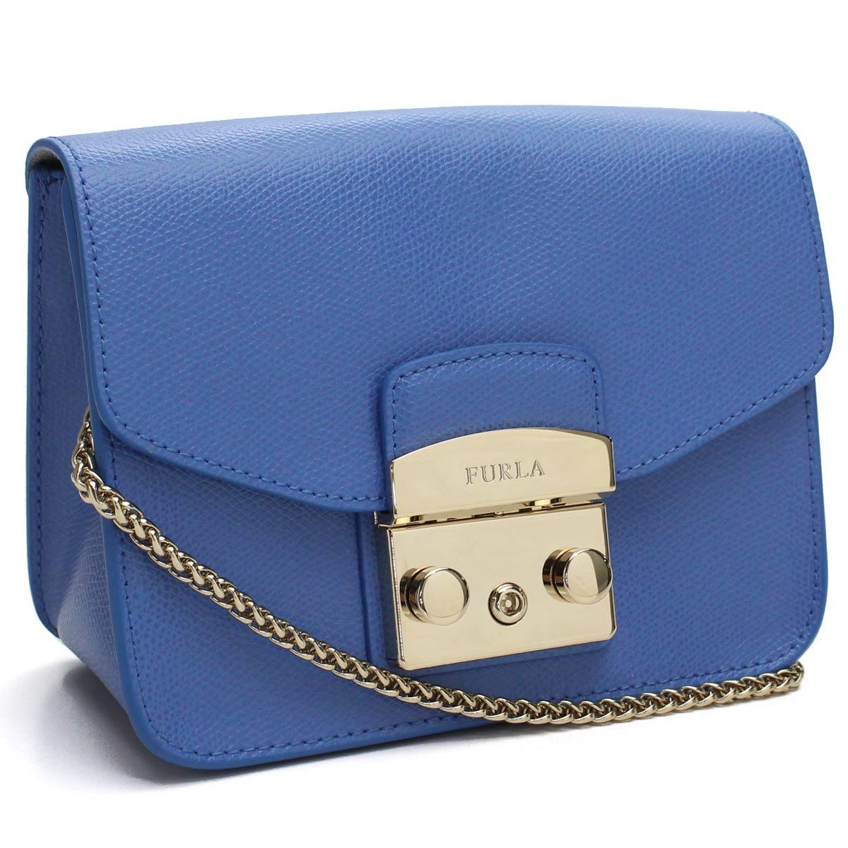 8eb7ead1c6d6 Bighit The total brand wholesale  フルラ FURLA METROPOLIS metropolis mini-crossbody  pochette BGZ7 914336 ARE CFT CELESTE blue system