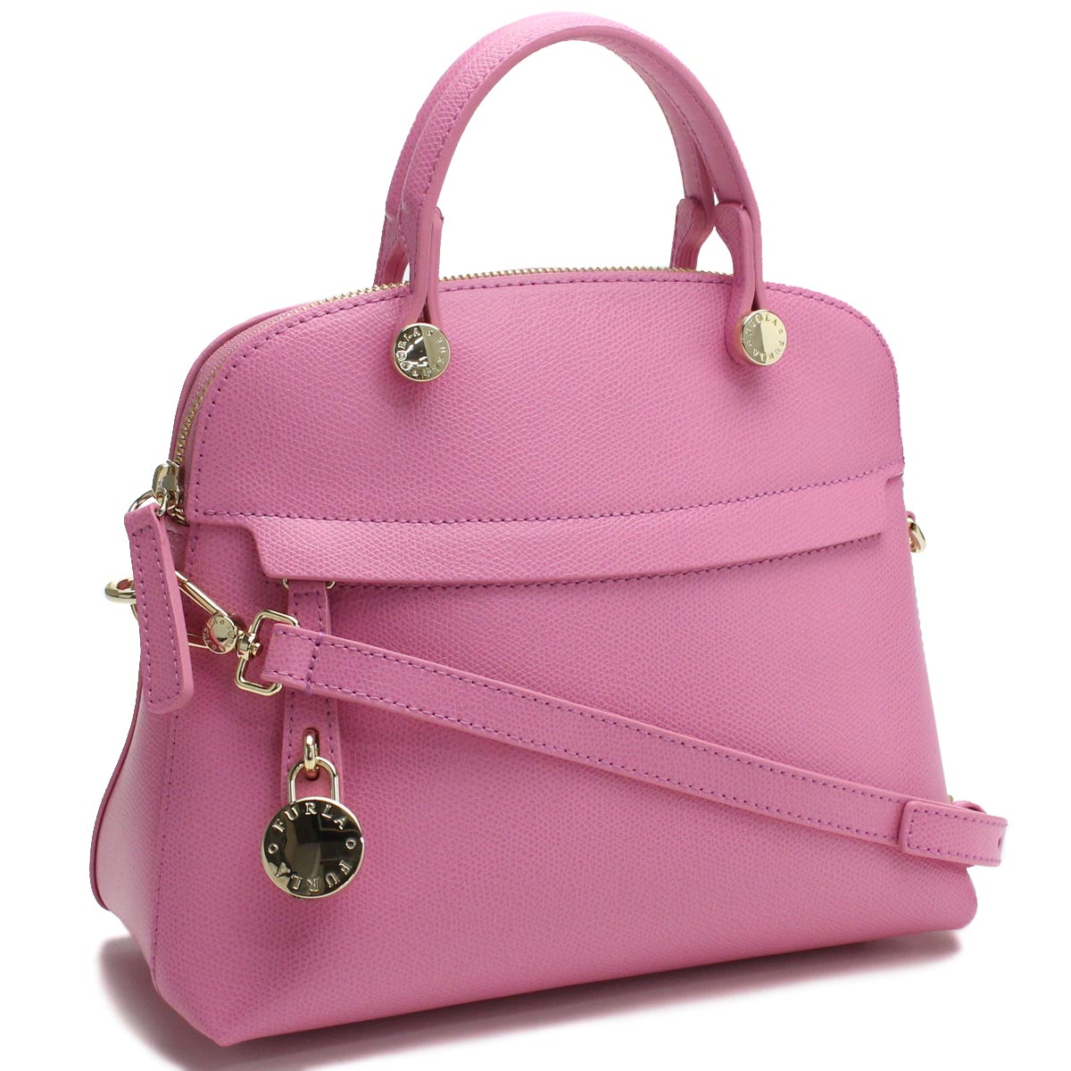 Hit The Total Brand Whole フルラ Furla Bag Piper 2way Handbag Bhv0 933234 Are Or9 Orchidea Pink System Rakuten Global Market