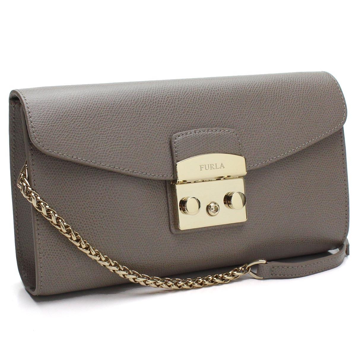 ea1f3a4e5 Bighit The total brand wholesale: フルラ FURLA METROPOLIS metropolis shoulder  bag BOT6 962804 ARE SBB SABBIA gray system | Rakuten Global Market