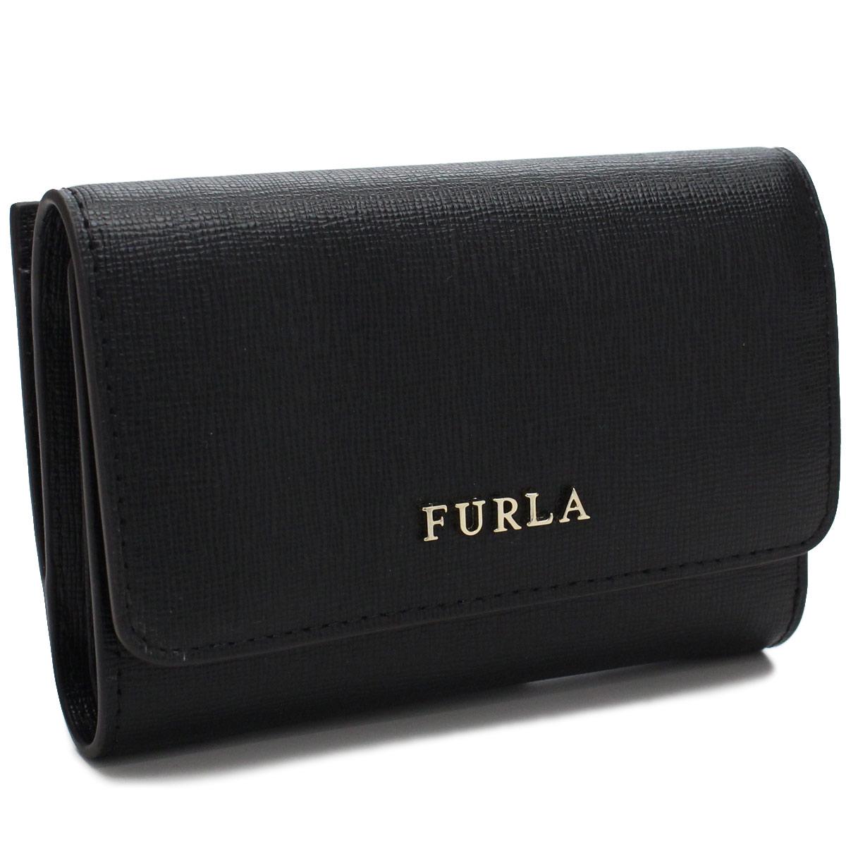 フルラ FURLA 財布 BABYLON バビロン 3つ折り財布 小銭入れ付き PR76 872817 B30 O60 NERO ブラック レディース