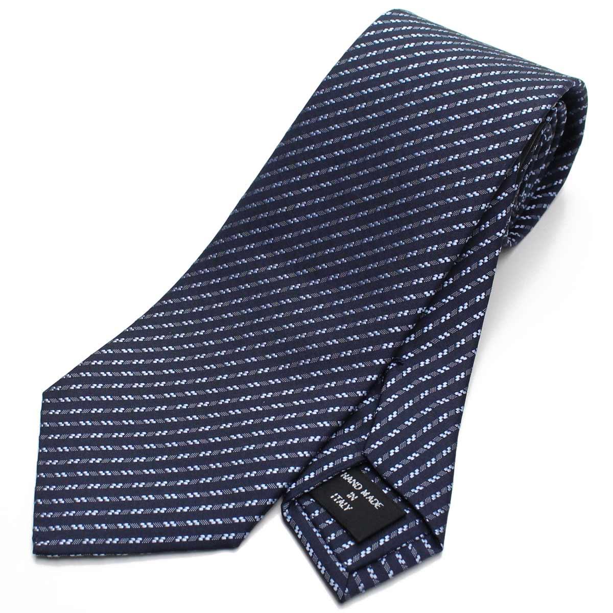 ジョルジオ アルマーニ GIORGIO ARMANI ストライプ シルク ネクタイ レギュラータイ 360054 8A927 00036 NIGHT BLUE ブルー系 最安値挑戦中 メンズ
