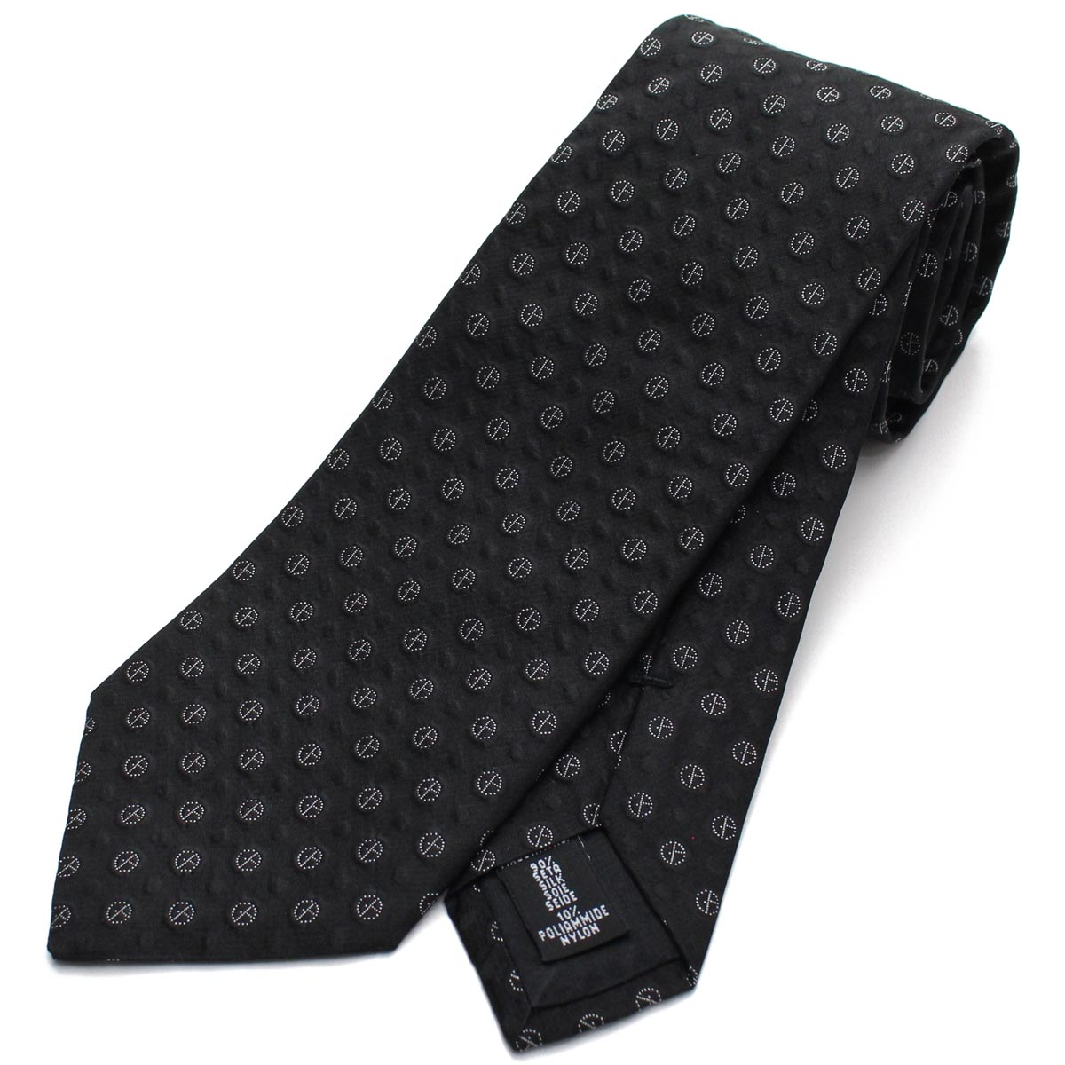 ジョルジオ アルマーニ GIORGIO ARMANI シルク ネクタイ レギュラータイ 360054 8A945 00020 BLACK ブラック 最安値挑戦中 メンズ