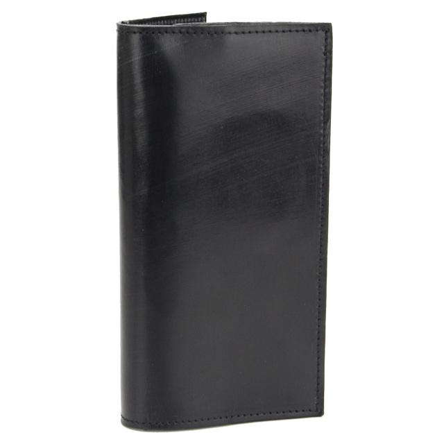 グレンロイヤル GLENROYAL 財布 ブライドルレザー 二つ折り 長財布 小銭入れ付 03 5594 BLACK ブラック 【メンズ】