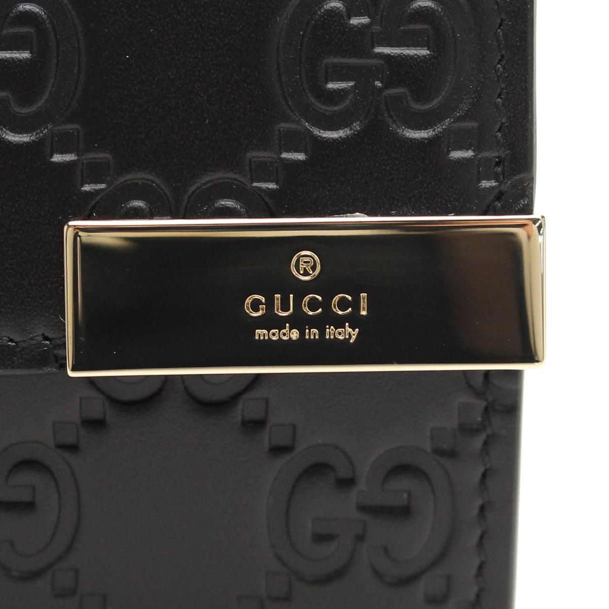구찌(GUCCI) DICE 2때장 지갑 동전입 291099 CWC1G 1000 블랙