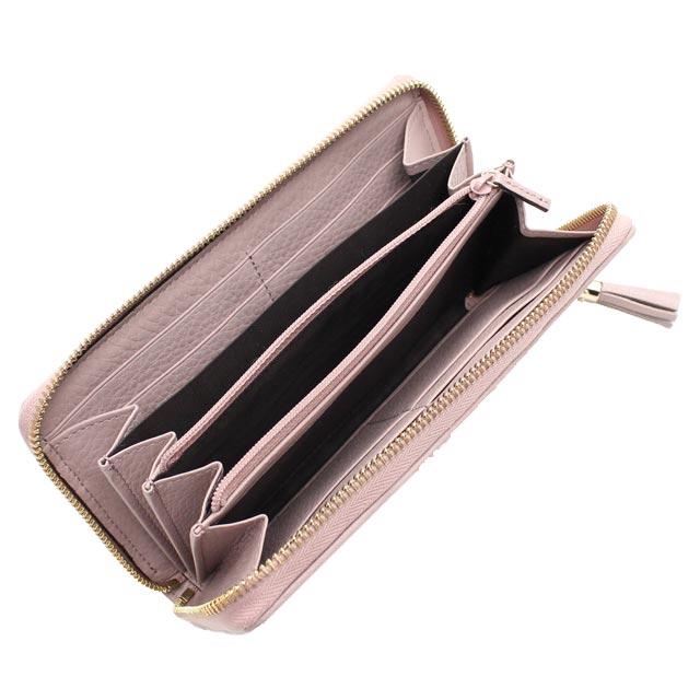 구찌(GUCCI) RANIA 라운드 패스너장 지갑 동전 지갑 첨부 353651 F4CKG 9698 베이지계