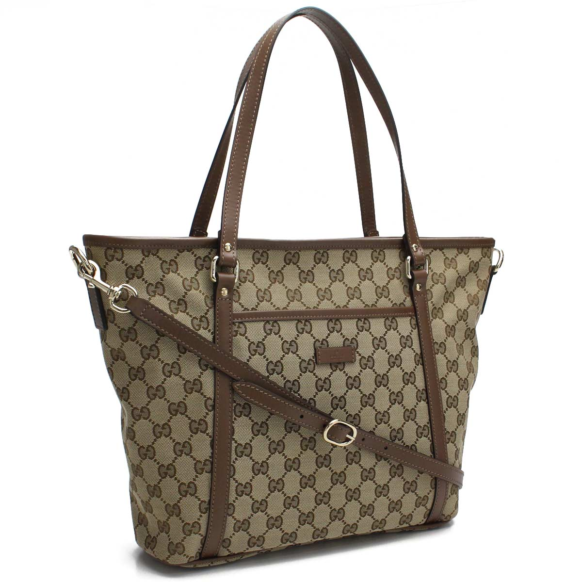 477651c9f7f8 Bighit The total brand wholesale: Gucci GUCCI GG canvas 2way tote bag  388929 KQWFZ 8871 brown system | Rakuten Global Market