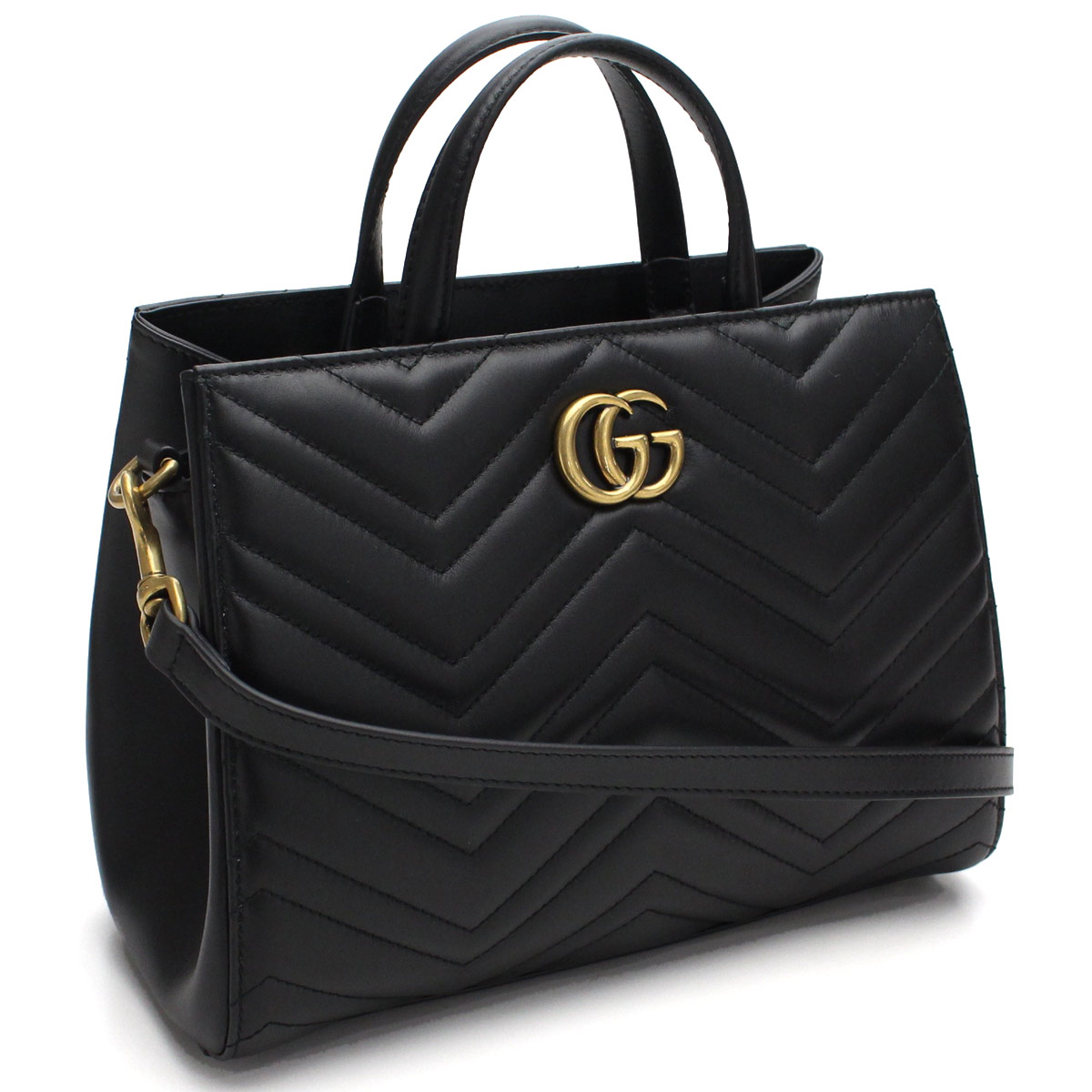 a2b9229927b Bighit The total brand wholesale  Gucci (GUCCI) GG MARMONT 2way handbag  448054 DTD1T 1000 black