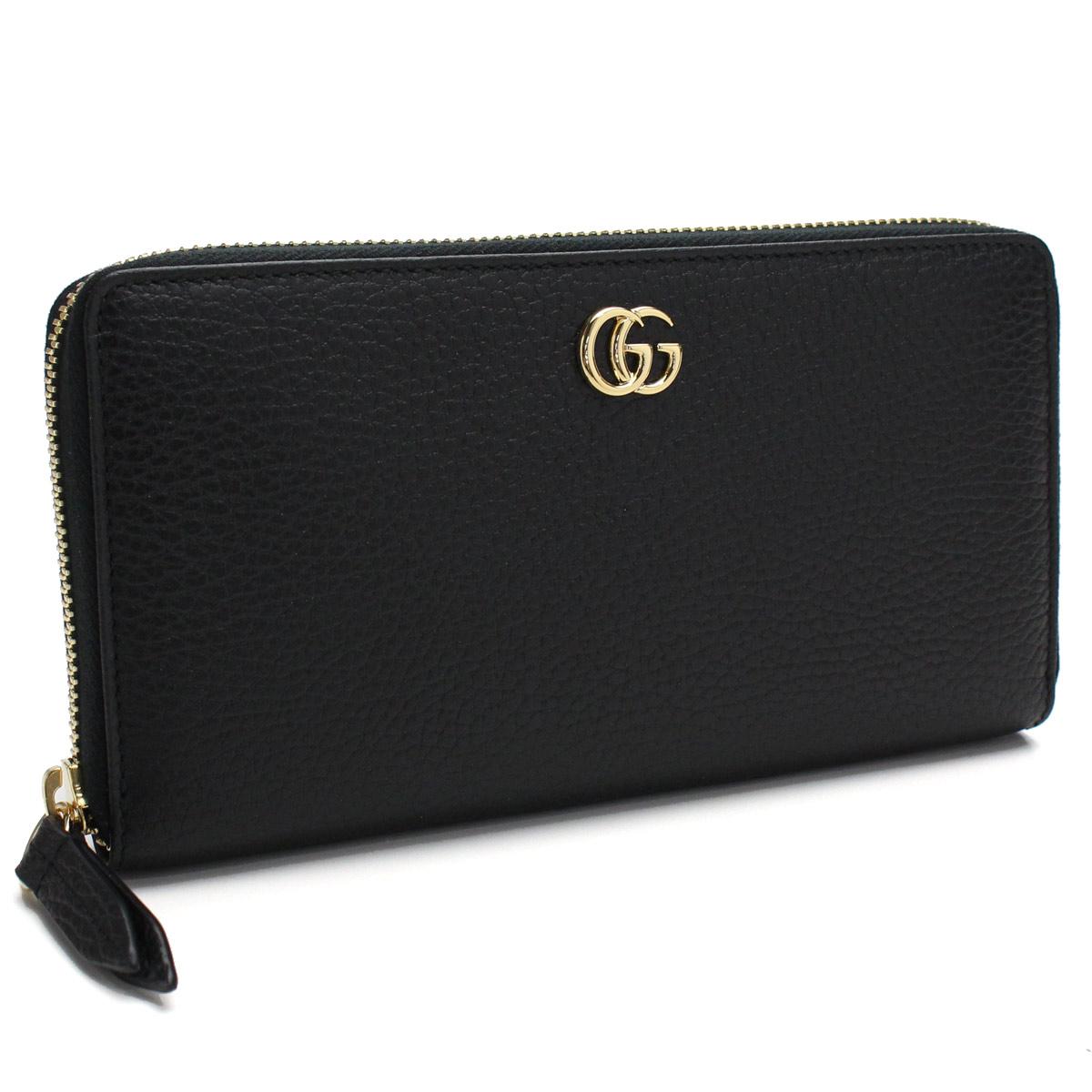 c08b20815 Bighit The total brand wholesale: Gucci GUCCI wallet PETITE round fastener  long wallet 456117 CAO0G 1000 black | Rakuten Global Market