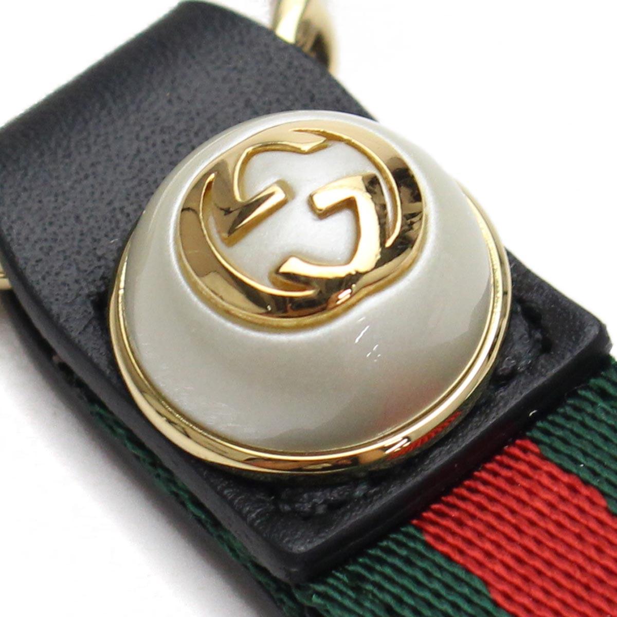94ae80dbb79 Bighit The total brand wholesale  Gucci (GUCCI) GG pearl Web key ...