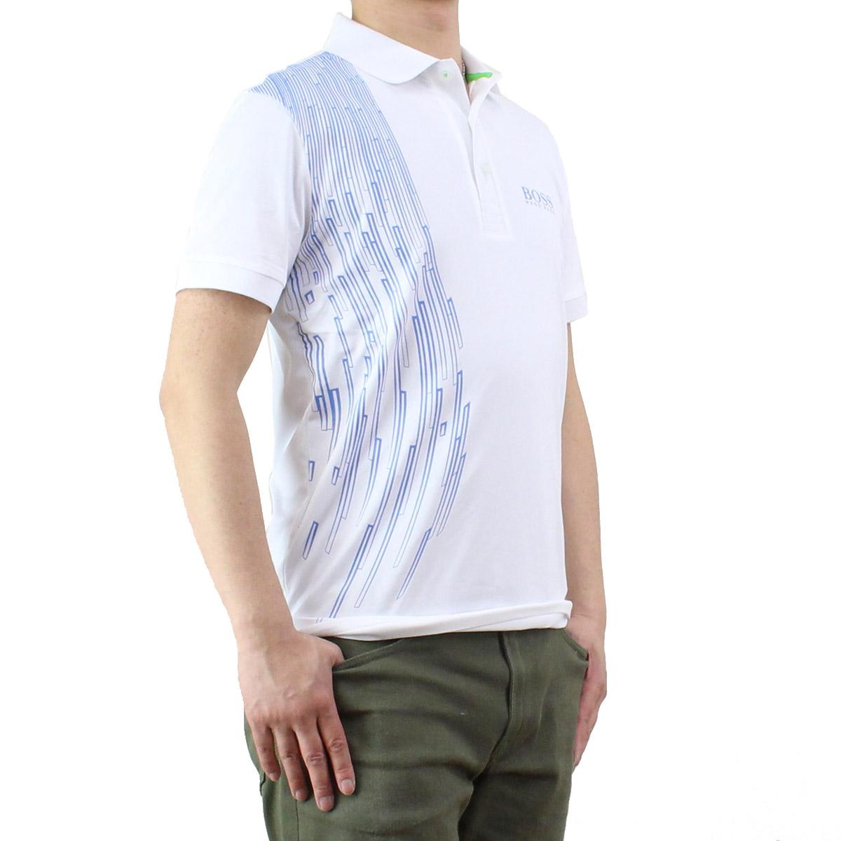 e8c8de26b Bighit The total brand wholesale: Hugo boss (HUGO BOSS) PAULE PRO 3 men's  polo shirt 50330201 10191776 100 white system, blue system | Rakuten Global  Market