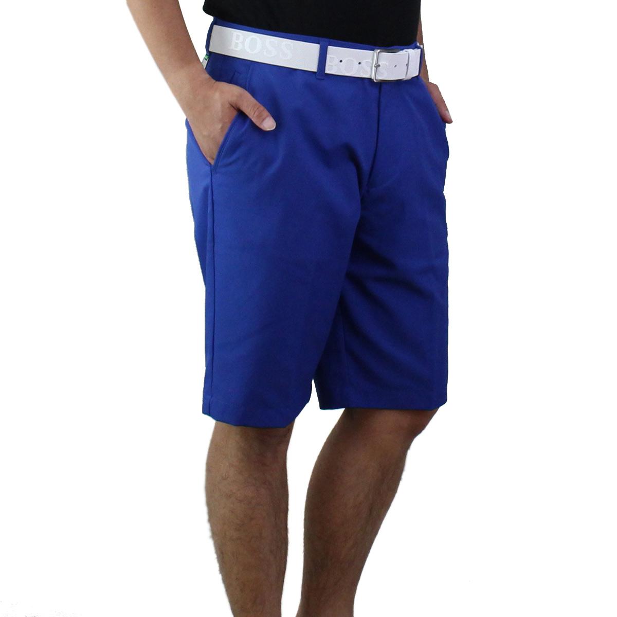ヒューゴ ボス HUGO BOSS HYLER 8-1 メンズ ハーフパンツ ゴルフウェア 50371191 10172225 462 ブルー系 メンズ【キャッシュレス 5% 還元】