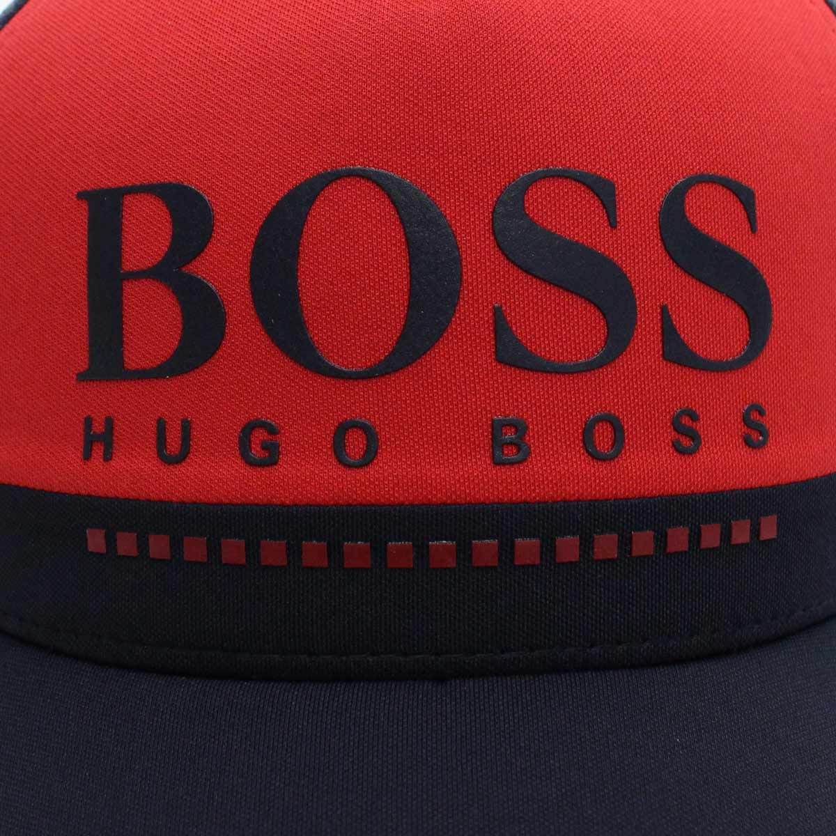 Schnelle Lieferung später größte Auswahl Red system men of Hugo Boss HUGO BOSS LOGO-CAP-3 by color cap 50402452  10214485 622 navy origin