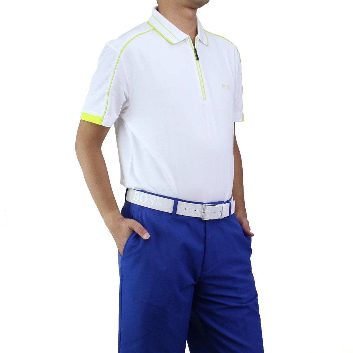 613c6e010 Bighit The total brand wholesale: Hugo Boss HUGO BOSS PHILIX フィリックスポロシャツ  short sleeves golf wear 50404274 10214873 100 white system | Rakuten ...