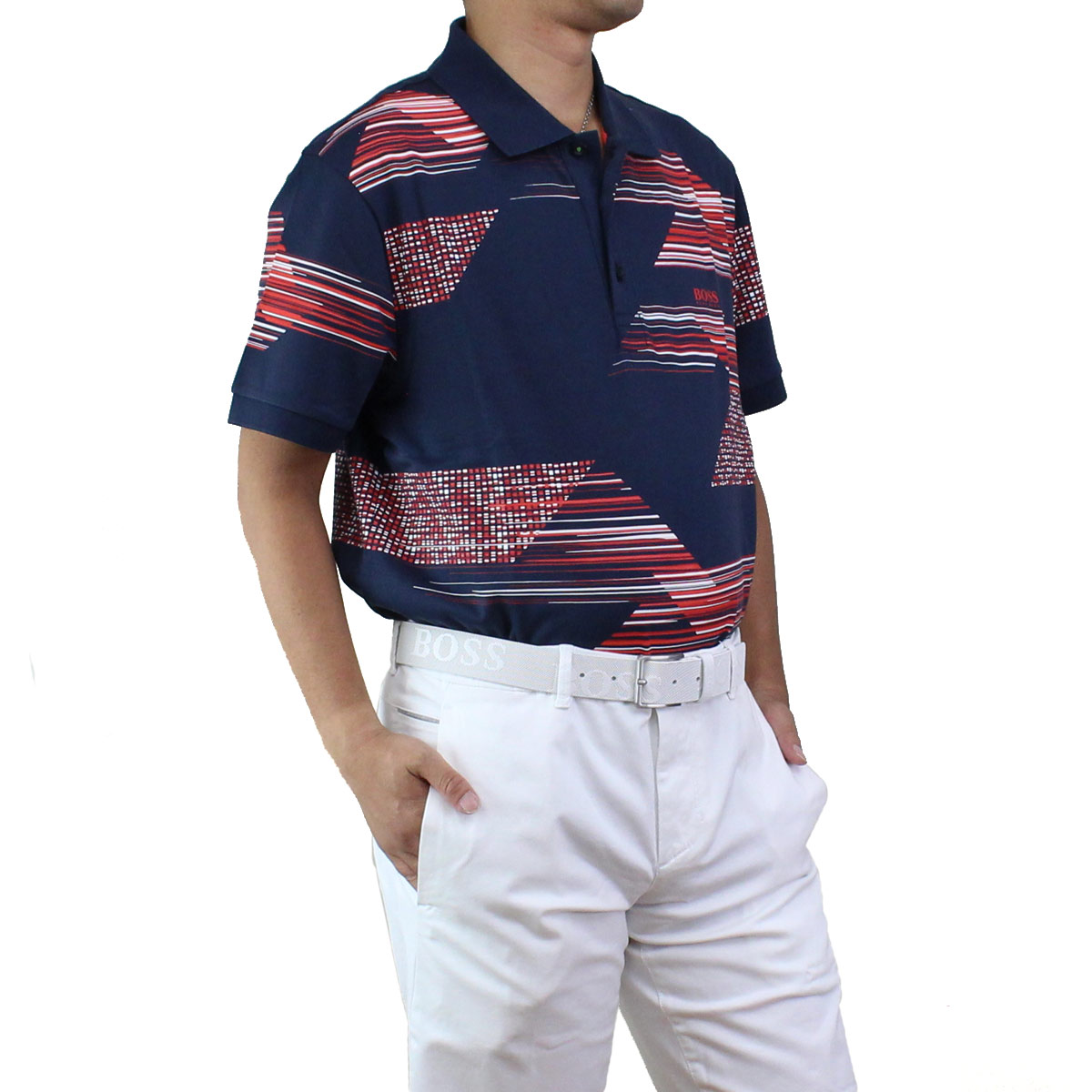 73c36c04 Bighit The total brand wholesale: Men of Hugo Boss HUGO BOSS PAULE 6 poles  6 polo shirt short sleeves golf wear 50406570 10210510 410 navy origin |  Rakuten ...