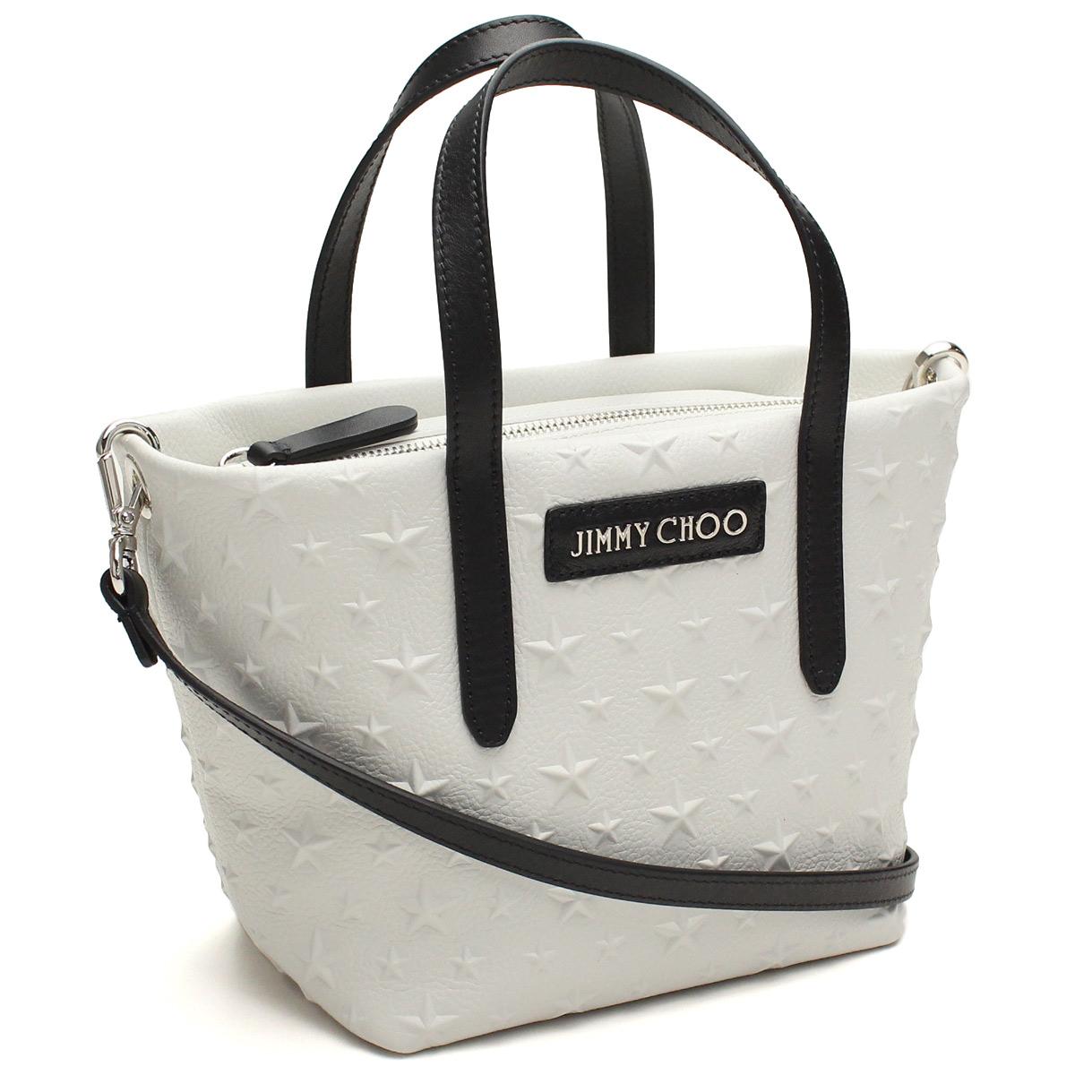 61278cbe69d (JIMMY CHOO) Jimmy Choo handbags MINISARA EMG CHALK white series(  taxfree send