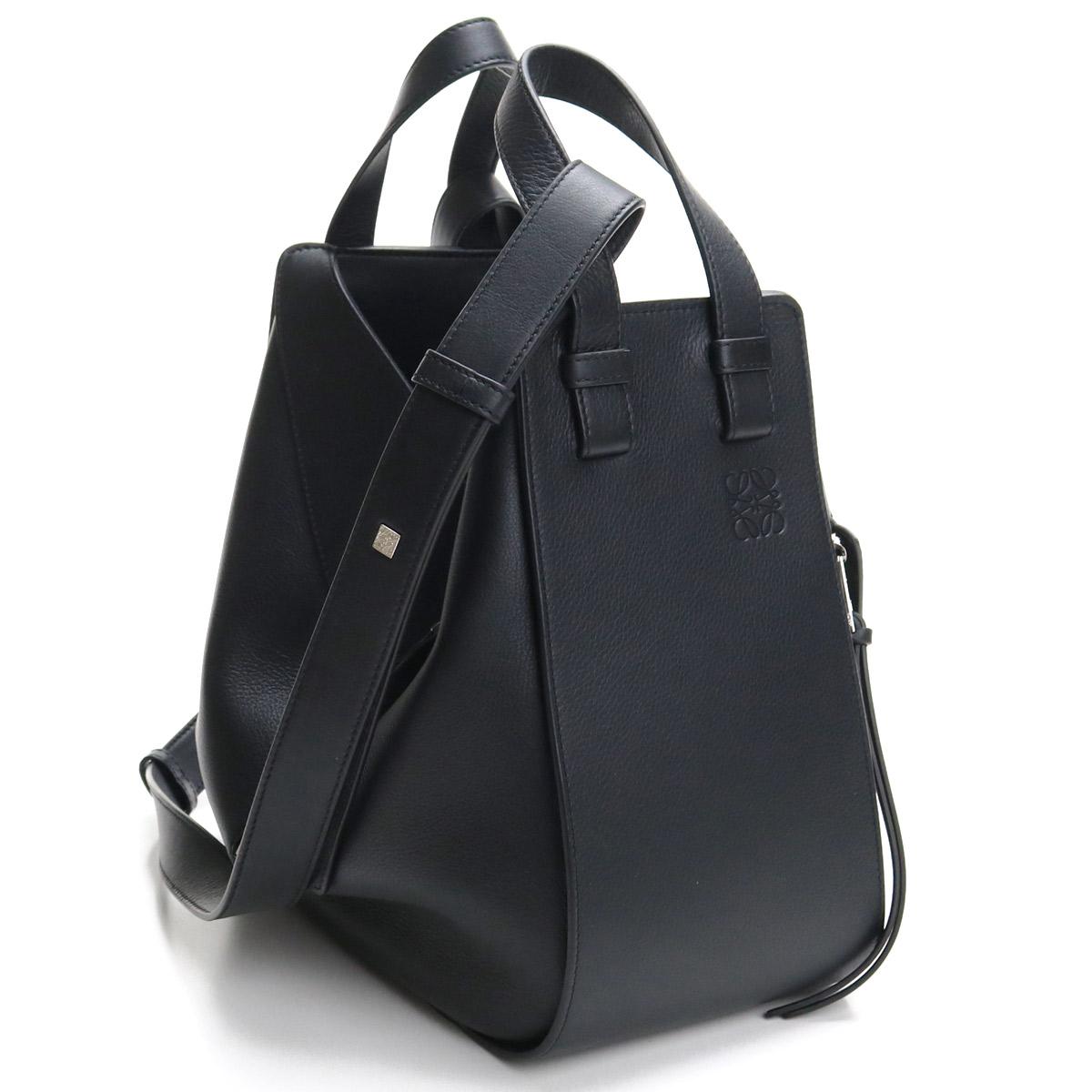 ロエベ LOEWE Hammock Drawstring Small Bag ハンモック スモールバッグ ハンドバッグ 387.30.S35 1100 BLACK ブラック 【レディース】