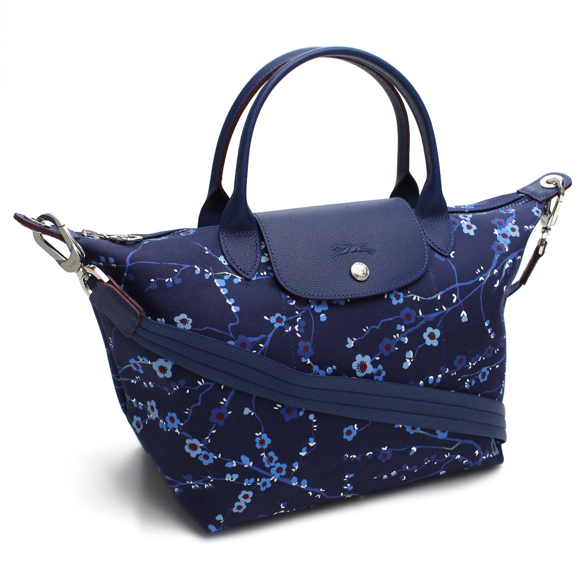 9f56631a0 Bighit The total brand wholesale: Longchamp (LONGCHAMP) Le PLIAGE NEO  ルプリアージュネオファンテジーサクラ 2way tote bag 1512 634 006 navy system, ...