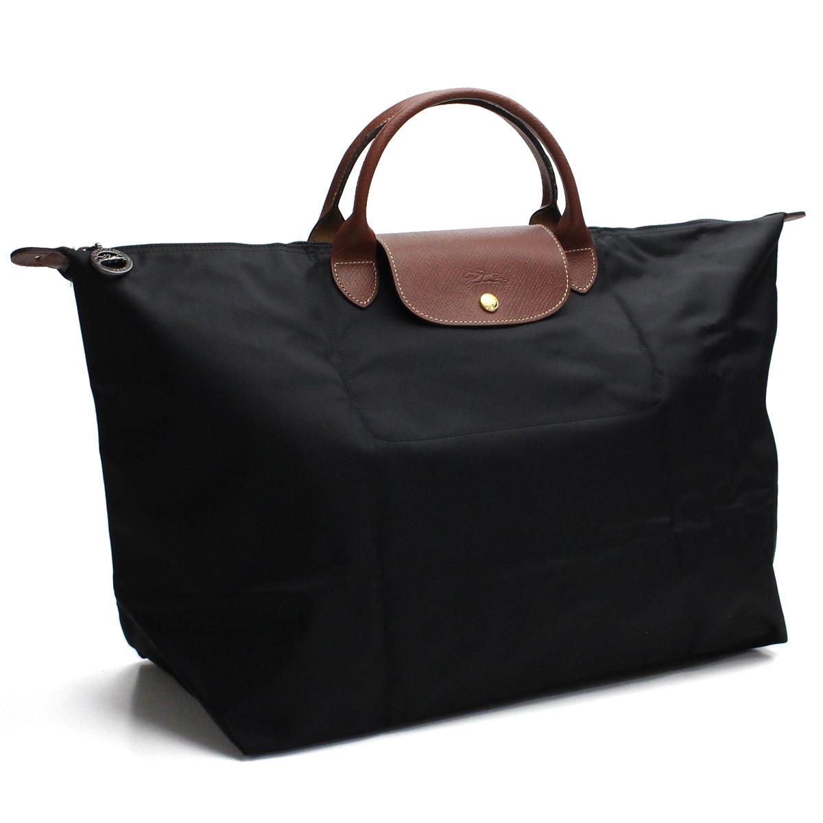 31a8038b687 Bighit The total brand wholesale  Longchamp (LONGCHAMP) LE PLIAGE  ルプリアージュトラベルバッグ large size 1624 089 001 NOIR(NERO) black