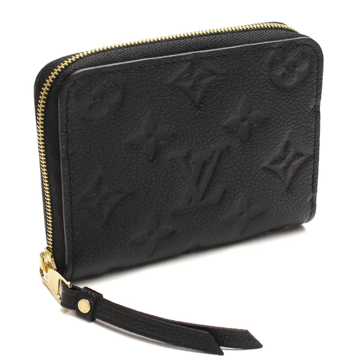 Louis Vuitton (LOUIS VUITTON) and plant zippy coin purse M60574 Noir black(  taxfree send by EMS authentic A brand new item ) b3b50aca271