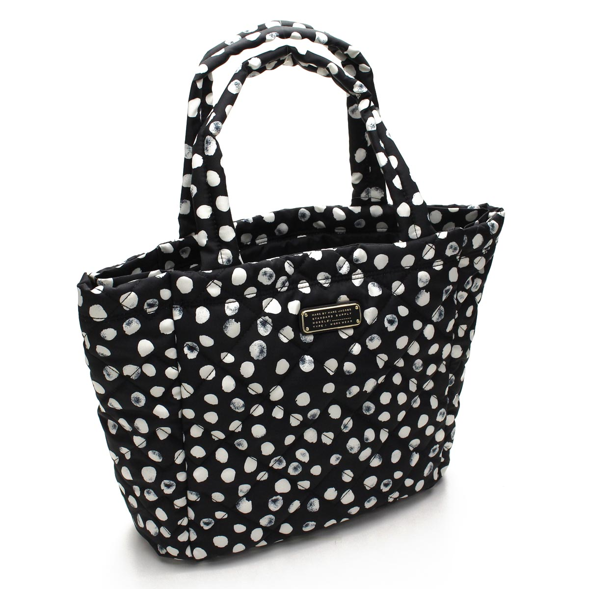 Hit The Total Brand Whole Mark By Jacobs Marc Crosby Quilt Nylon Tote M0006180 002 Black Multi Taxfree Send