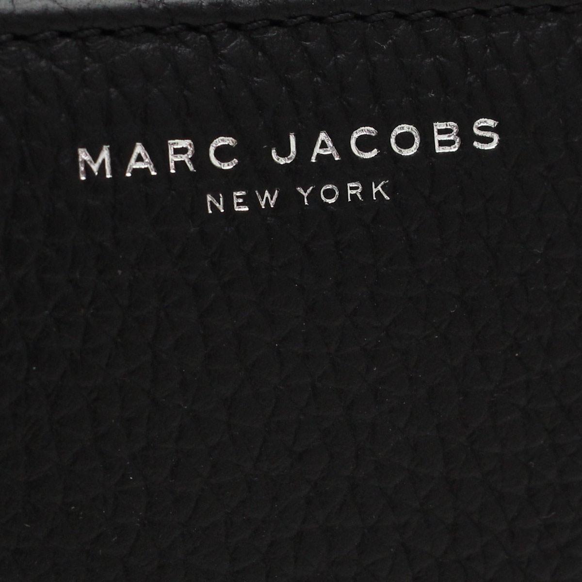 마크바이마크・제이콥스(MARC BY MARC JACOBS) GOTHAM CITY 2때지갑 동전 지갑 M0008454 001 BLACK 블랙