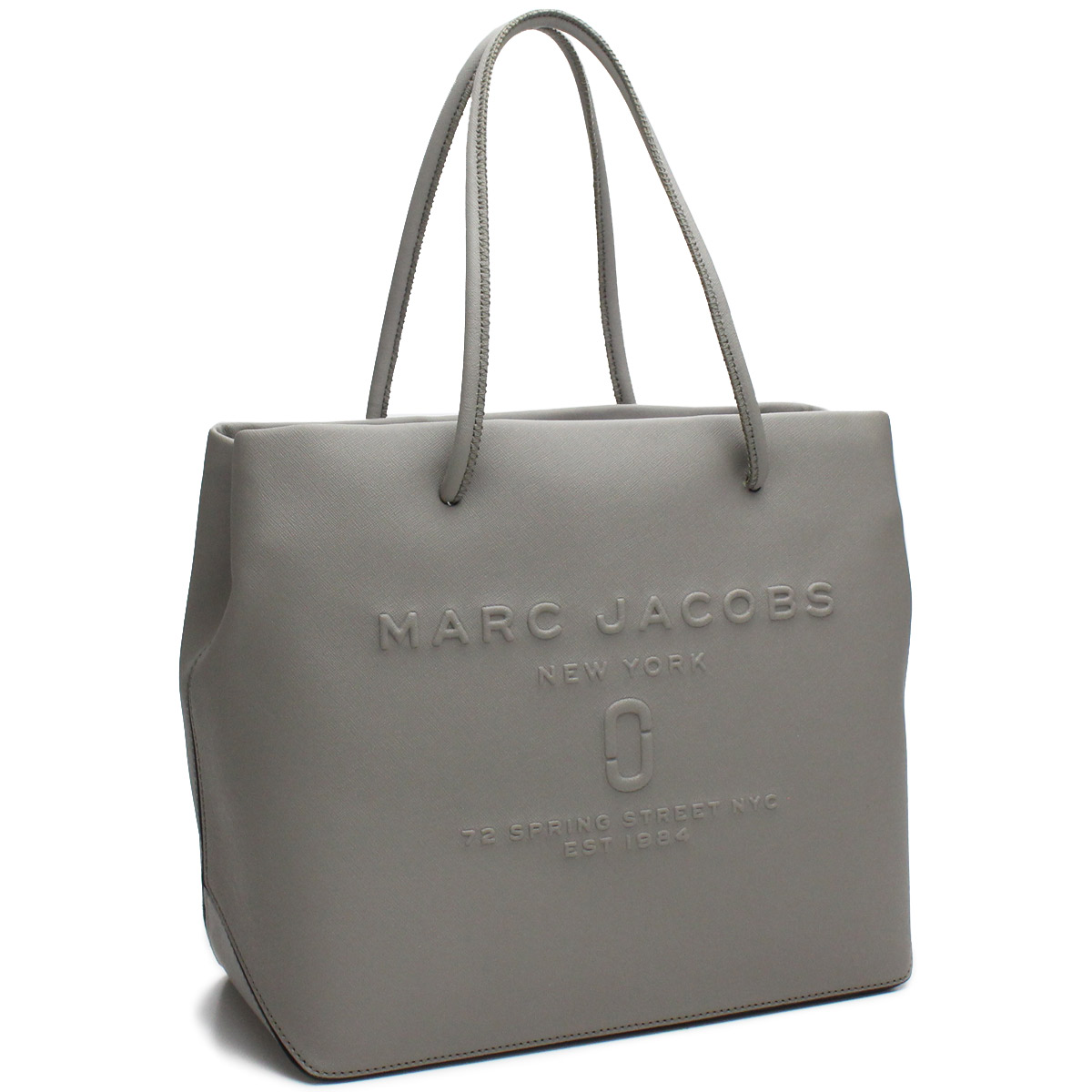 4a62aa12350e6 Bighit The total brand wholesale  Mark Jacobs MARC JACOBS bag LOGO SHOPPER  logo shopper tote bag M0011046 027 STONE GREY gray system