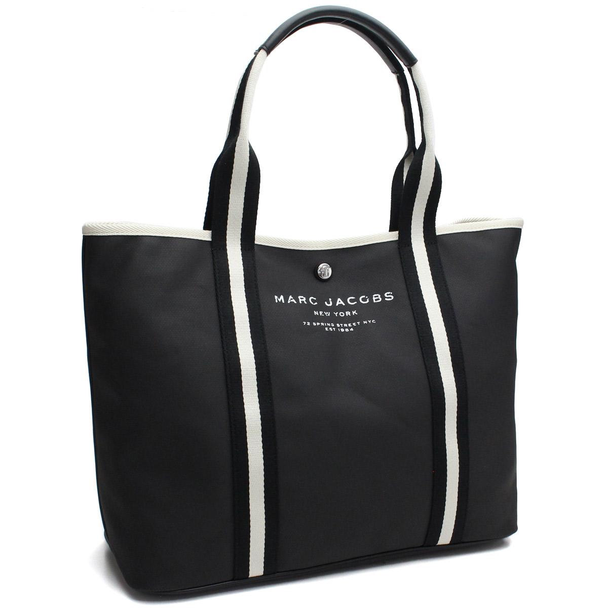 fa8911fb5442 Bighit The total brand wholesale  Mark Jacobs (MARC JACOBS) coating canvas  tote bag M0012008 001 BLACK black