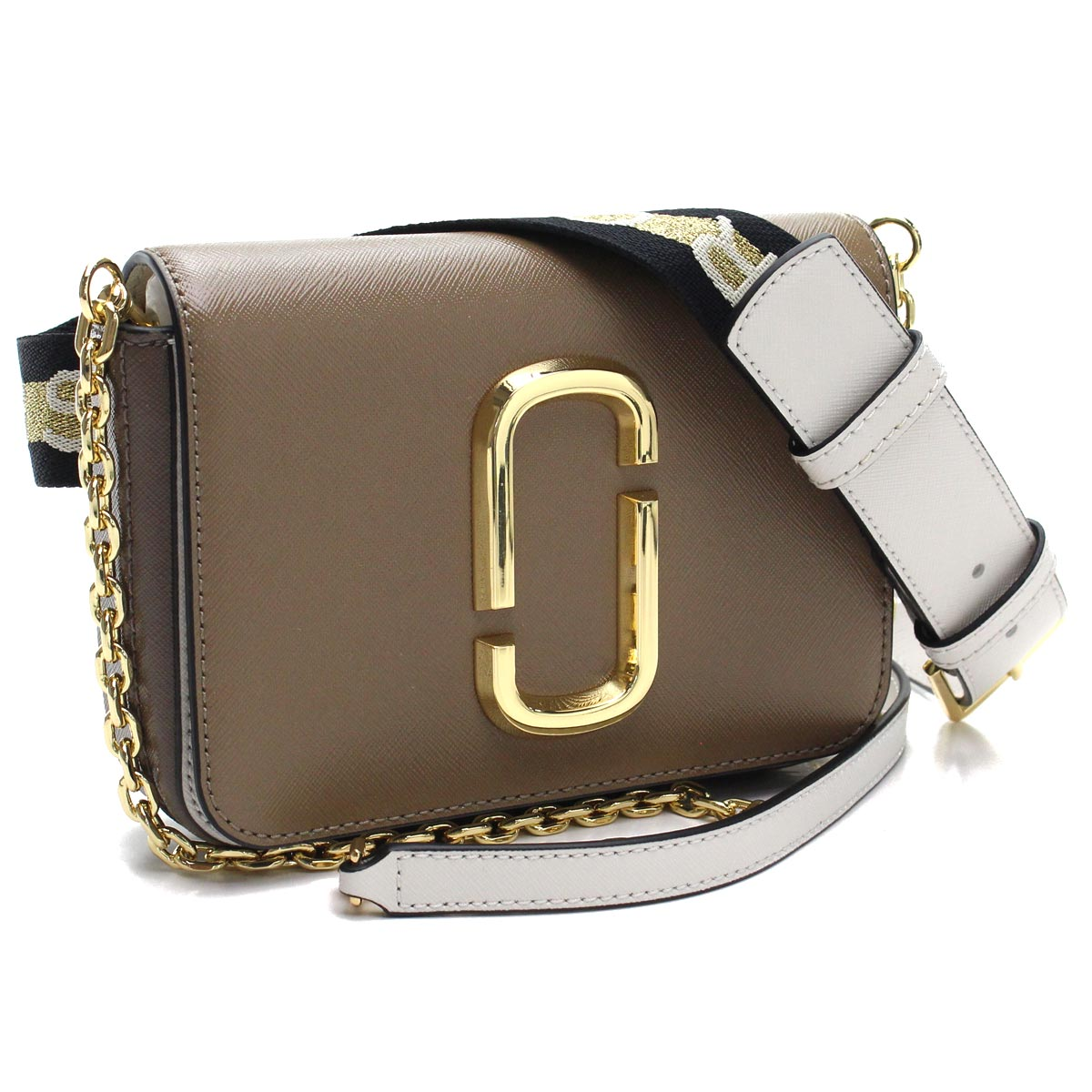 18cb536bb59f8 Bighit The total brand wholesale: Multicolored Lady's of mark Jacobs MARC  JACOBS hips shot waist bag belt bag M0014319 064 FRENCH GREY MULTI Brown  line ...