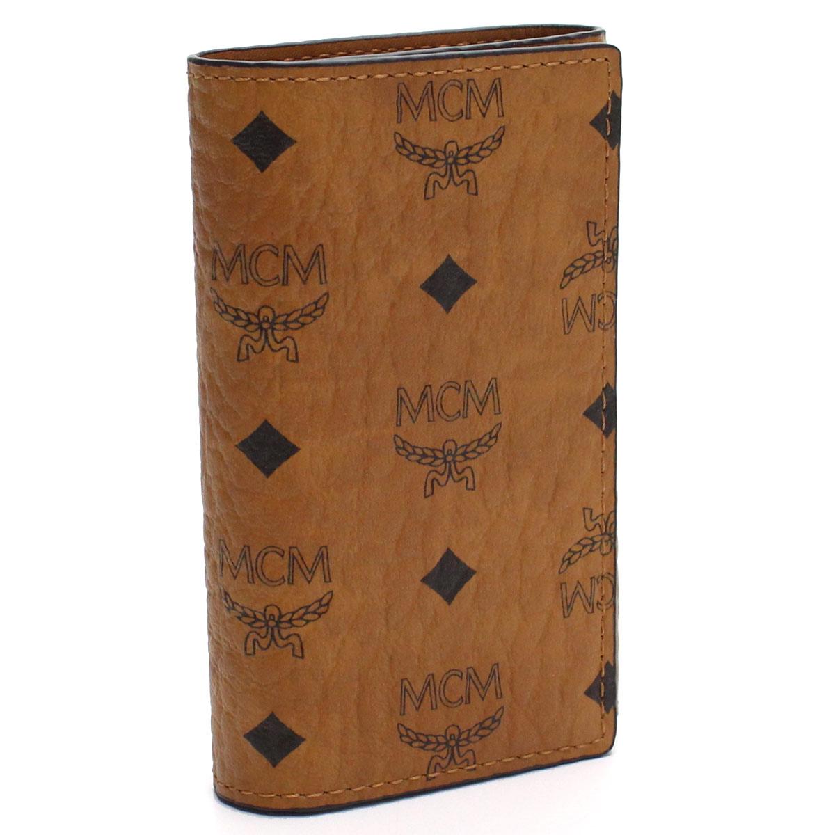 エムシーエム MCM 4連キーケース MXK8SVI34 CO001 ブラウン系 【レディース】【最安挑戦中】